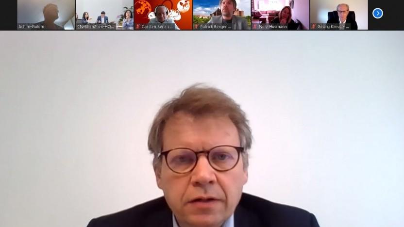 Patentrechtsanwalt Damien Gerardin spricht mit Golem.de.