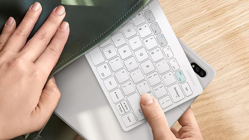 Das Smart Keyboard Trio 500 von Samsung