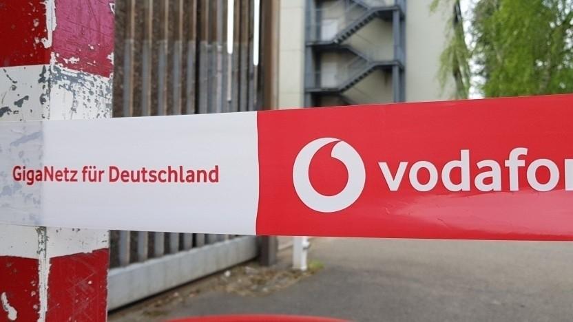 Netzausbau bei Vodafone