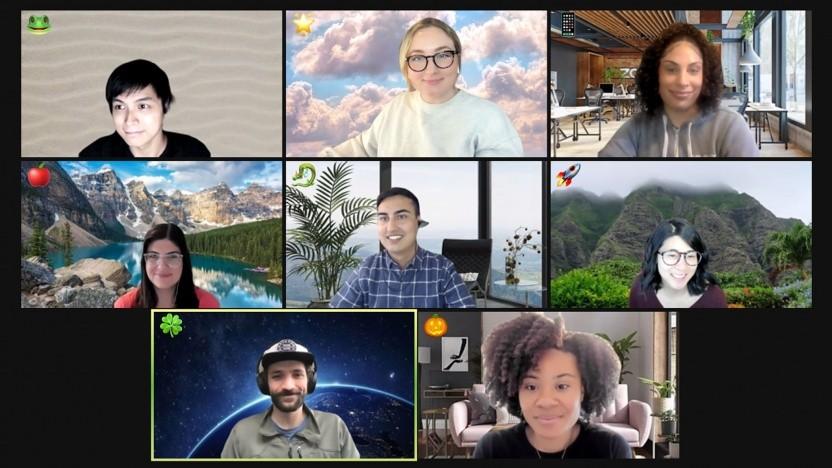 Zoom-Nutzer können in Meetings jetzt mehr Emojis verwenden.