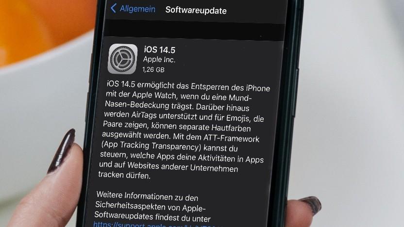 iOS 14.5 ist da.