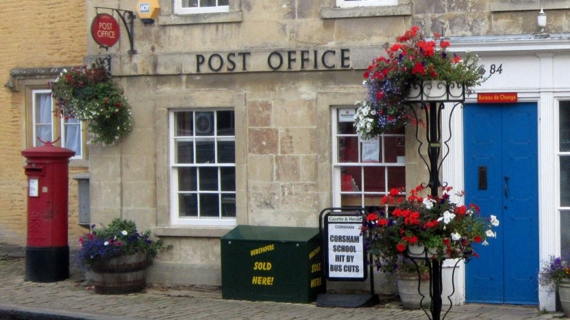 Filiale von Post Office