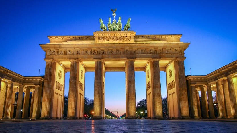 Das Brandenburger Tor in Berlin.
