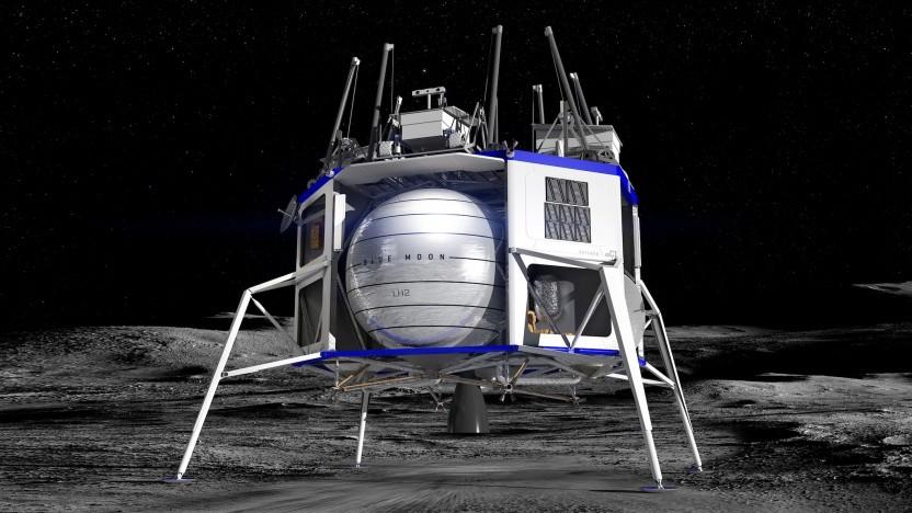 Der Blue Moon Lander sollte die Grundlage für den Mondlander von Blue Origin sein.