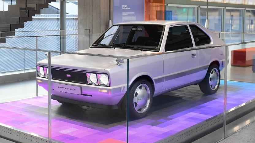 Hyundai Heritage Series Pony EV: Inspiration für den Ioniq 5