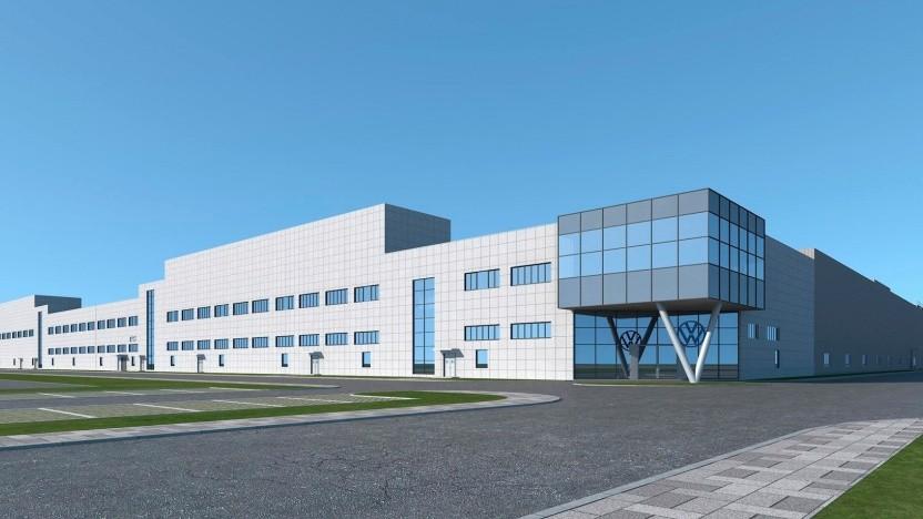 Technikzentrum des neuen MEB-Werks von Volkswagen Anhui