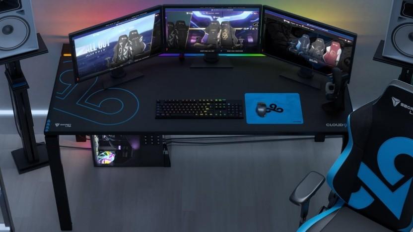 Auf dem  Magnus-Tisch ist  Platz für mehrere Monitore.