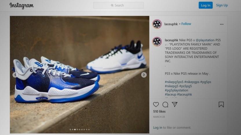 Auf Instagram kursieren erste Fotos der PG5 x PS5.