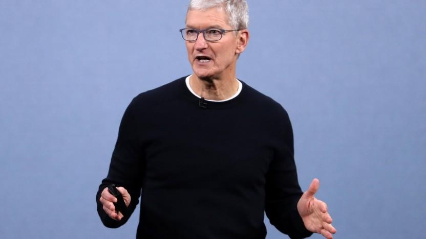 Apple-Chef Tim Cook stellte im September 2020 neue Kult-Produkte vor.