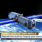 Raumfahrt: Erstes Modul der Chinesischen Raumstation gestartet