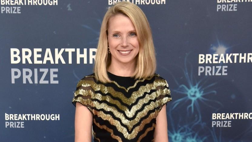 Ex-Yahoo-Chefin Marissa Mayer bei einer Preisverleihung im November 2019.