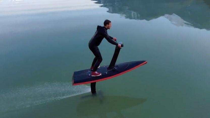 Der Hydroflyer soll Anfänger und Profis gleichermaßen begeistern.