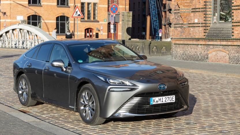 Brennstoffzellenauto Toyota Mirai: schicke Alternative zum konventionellen Elektroauto