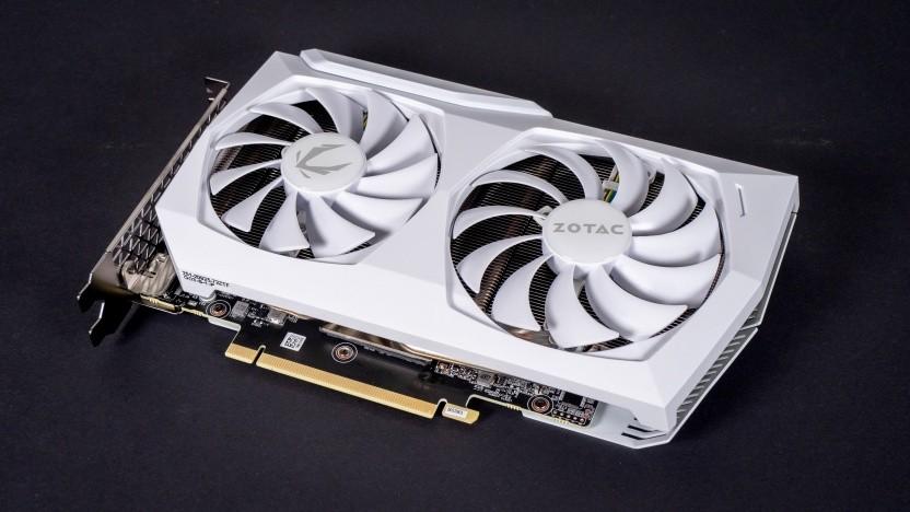 Eine Geforce RTX 3060 White Edition von Zotac