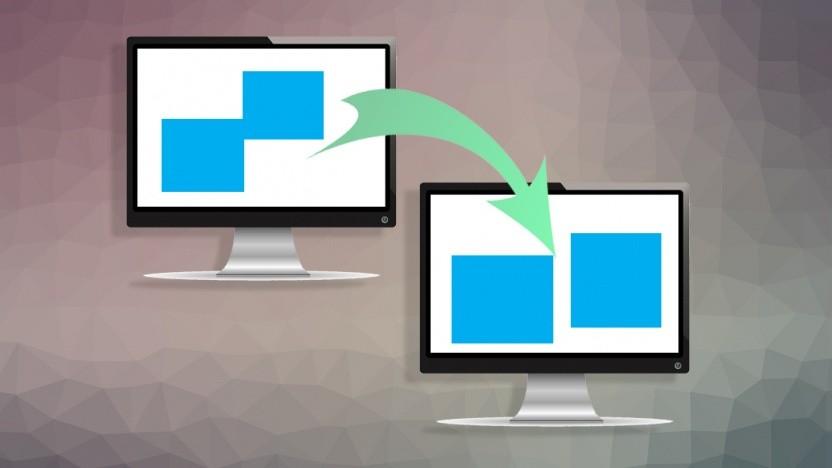 Microsoft will den Bug beheben, bei dem Fenster von einem Monitor auf den anderen springen.