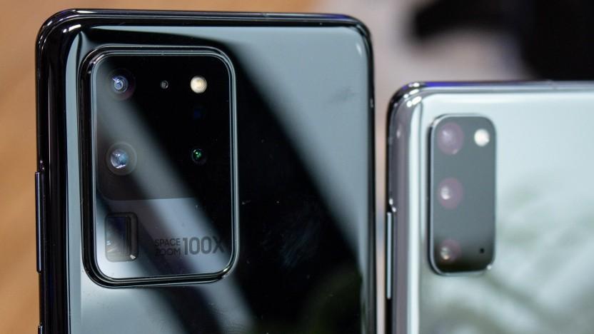 Das Galaxy S20 Ultra 5G und das Galaxy S20