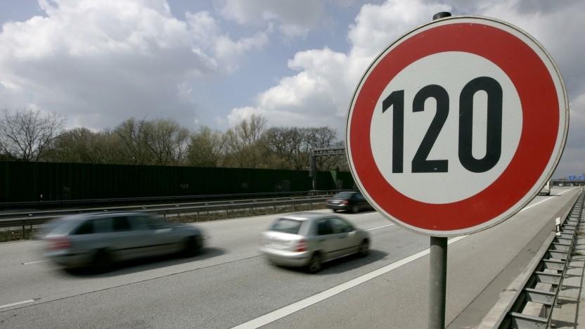 Tempolimit auf einer Autobahn: Zwei Drittel sind dafür.