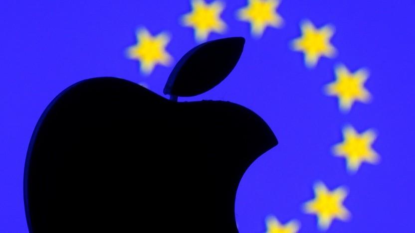 Die EU-Kommission wirft Apple unfairen Wettbewerb vor.