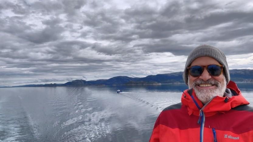 Ausgleich zum Berufsstress: In seiner Freizeit wandert Stephan Schmidt gerne durch Norwegen.