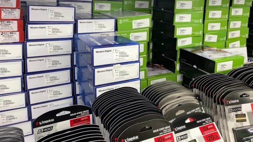 Festplatten und SSDs: mehr Schreibvorgänge als bei normalem Gebrauch