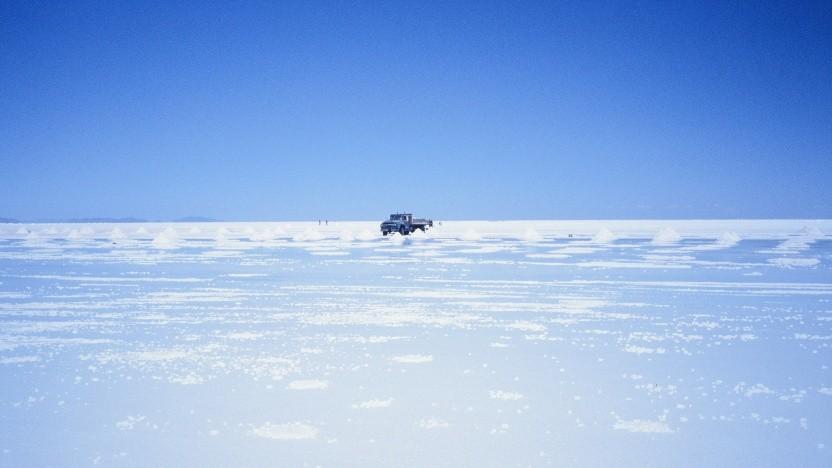 Der Salar de Uyuni gilt mit 10.000 Quadratkilometern als größte Salzpfanne der Welt.