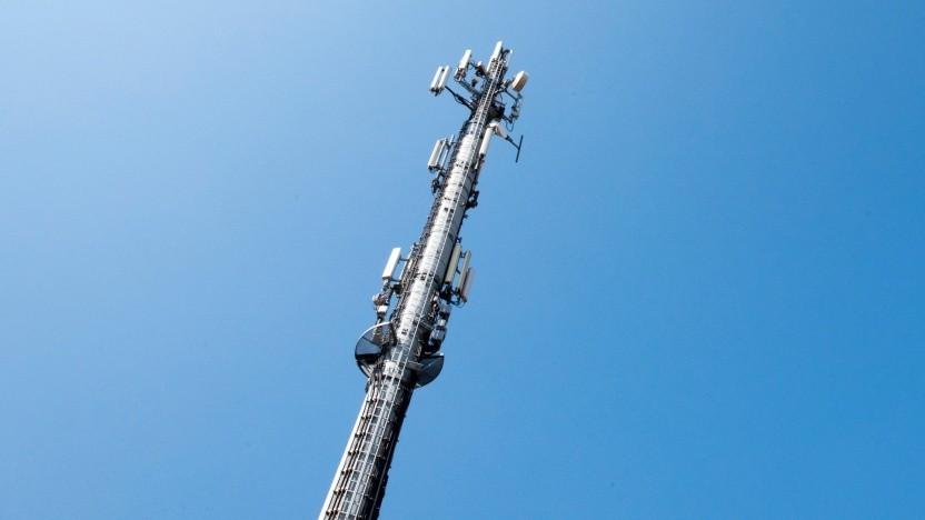 Sendemast der Deutschen Telekom