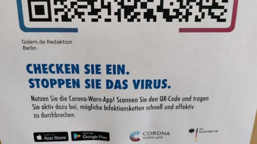 Die Corona-Warn-App darf in Sachsen erweitert genutzt werden.
