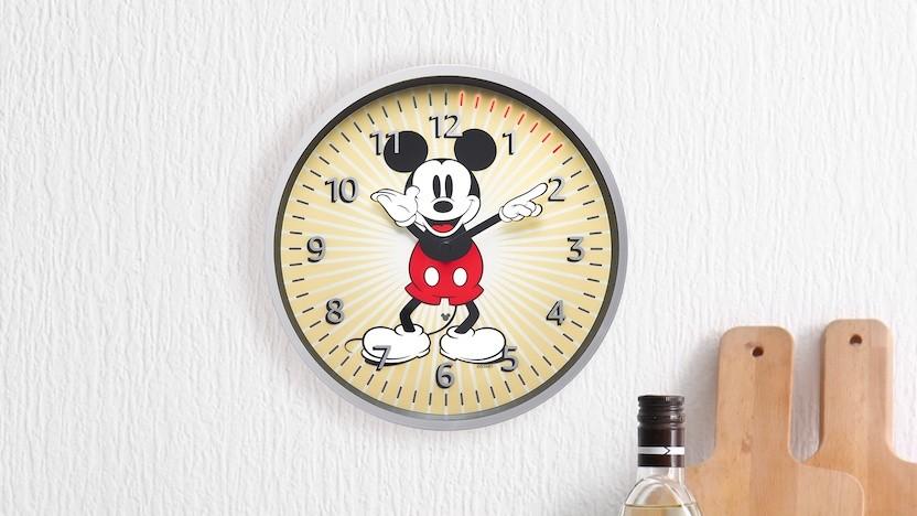 Die Micky-Maus-Version der Echo Wall Clock