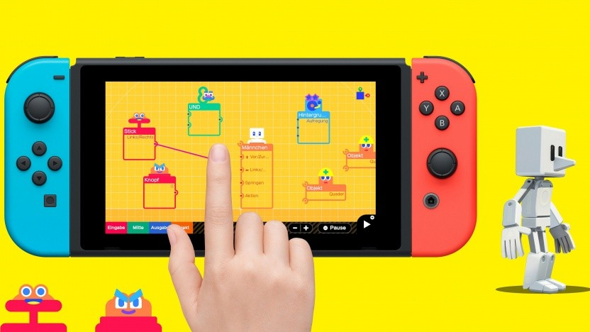 Artwork von Spielestudio für die Nintendo Switch