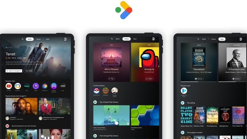 Der neue Entertainment Space für Android-Tablets
