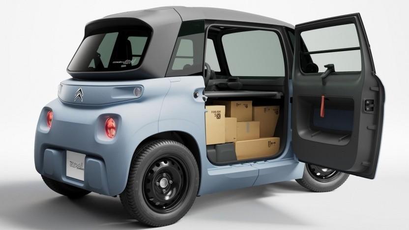 Citroën My Ami Cargo: Pakete statt Beifahrer
