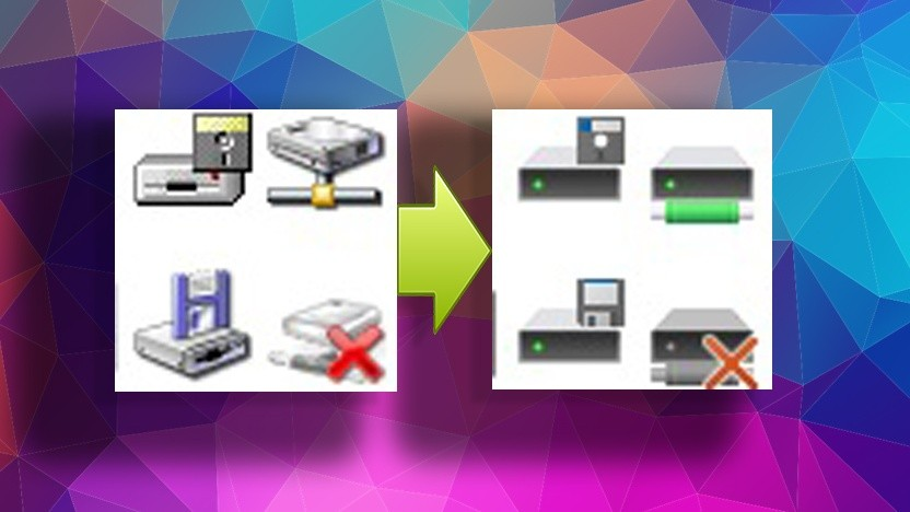 Microsoft ersetzt viele alte Symbole in Windows 10.