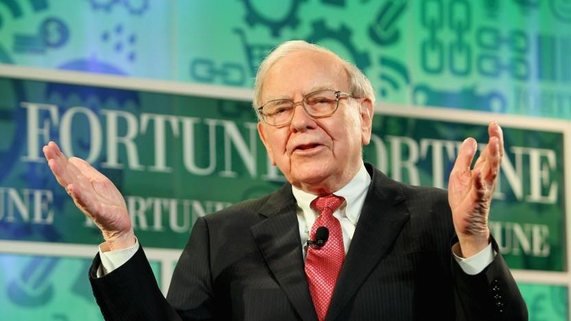 Die Aktie von Warren Buffetts Berkshire Hathaway ist bei 32-Bit übergelaufen.
