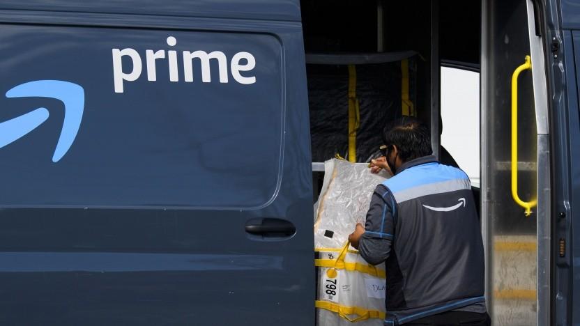 Die Amazon-Fahrer werden wohl gedrängt, Sicherheitsvorkehrungen zu missachten.