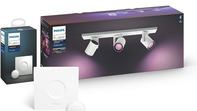 Philips Hue Beleuchtung gibt es aktuell zu Spitzenpreisen.