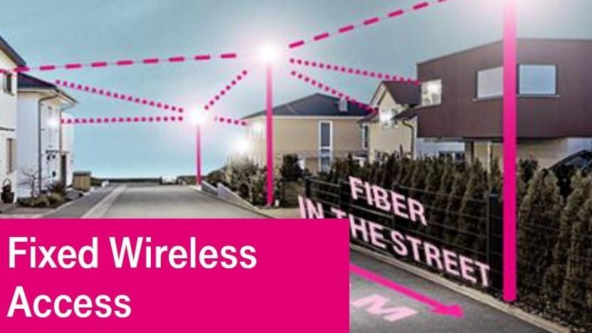 Telekom probiert und plant mit FWA.