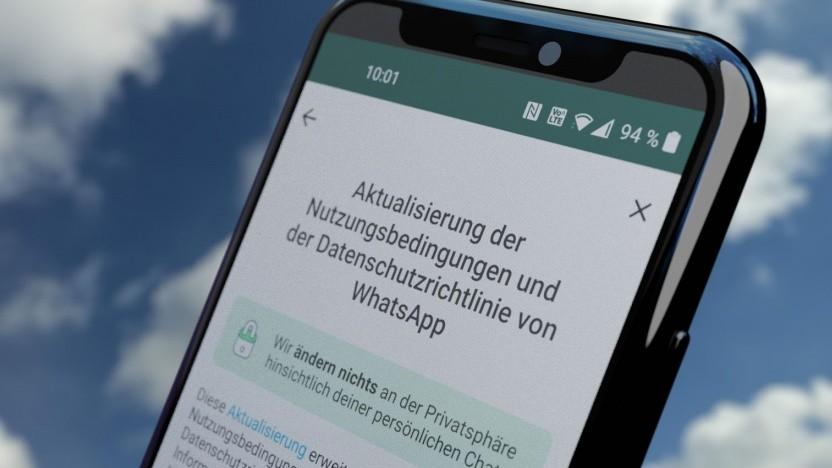 Whatsapp verlängert die Zustimmungsfrist für die neuen Bedingungen.