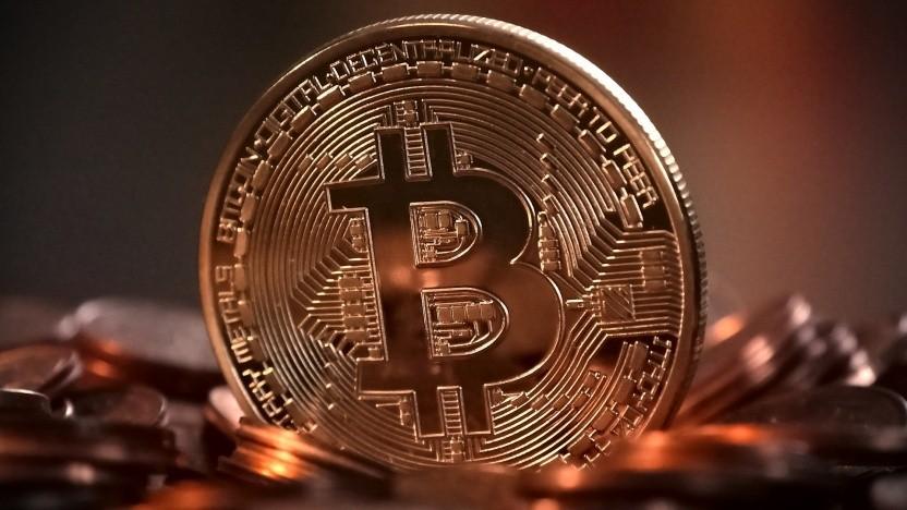 Der Kurs des Bitcoin nähert sich der 60.000er-Marke.