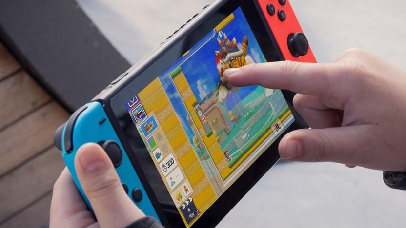 Artwork der Nintendo Switch