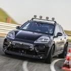 Prototyp auf der Straße: Porsche zeigt erste Bilder des Elektro-Macan