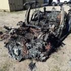Speichertechnik: Fahrer beim tödlichen Tesla-Unfall in Texas stieg vorn ein