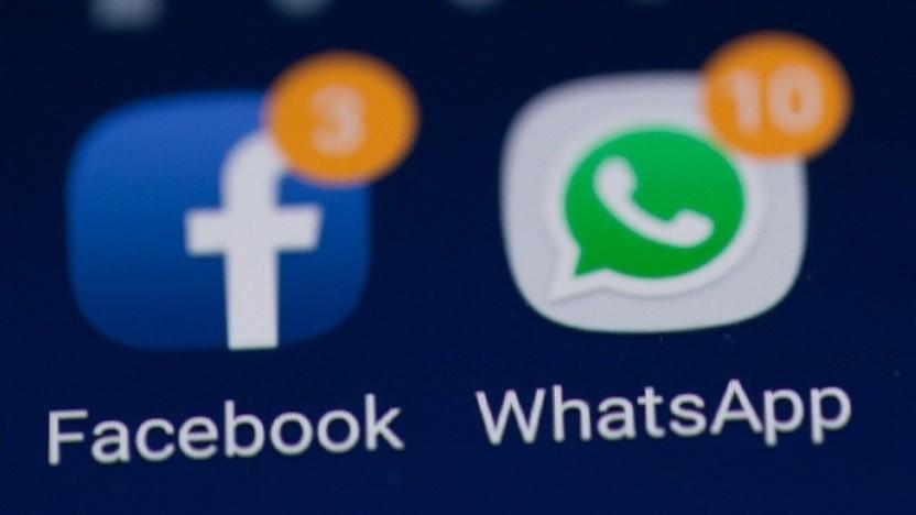 Whatsapp gehört zu Facebook.