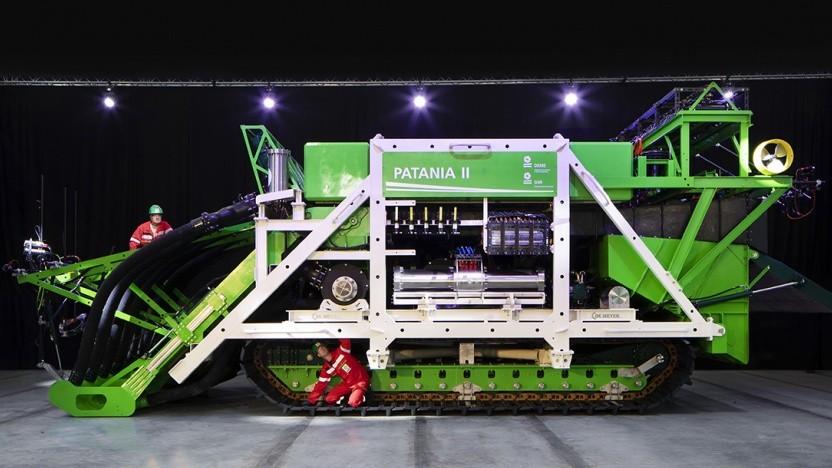 Kollektor Patania II: Folgen eines möglichen industriellen Abbaus auf die Meeresumwelt abschätzen