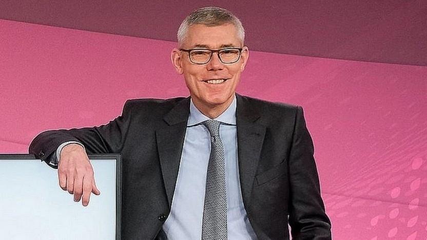 Telekom-Finanzchef Christian Illek: Quartalsbericht diesmal ohne Konzernchef Tim Höttges
