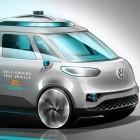 Autonomes Fahren: VW testet autonomen Bulli in München