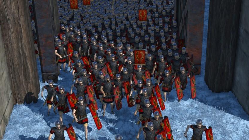 Aufpassen: In Toren bleiben unsere Legionäre gerne einmal hängen.