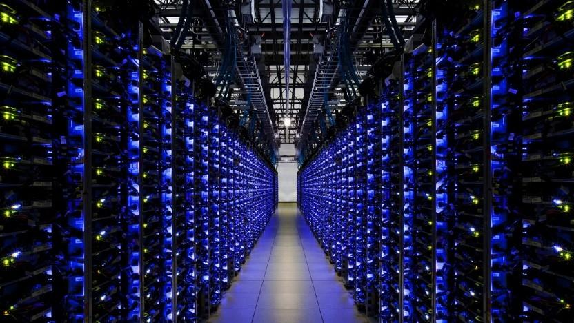 Rechenzentrum von Google Cloud