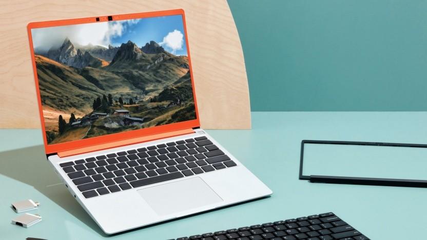 Der Framework Laptop soll später auch in diversen Farben erhältlich sein.