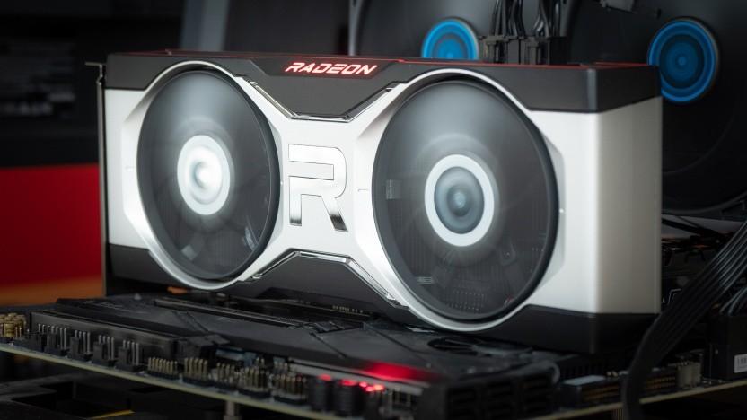 Eine Radeon RX 6700 XT mit Navi 22