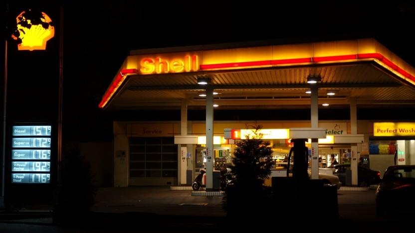 Shell-Tankstelle in Kreuzberg
